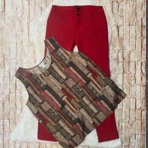 2-Piece Outfit. Size Large.